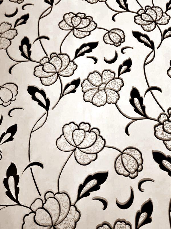 Sketsa Batik Flora