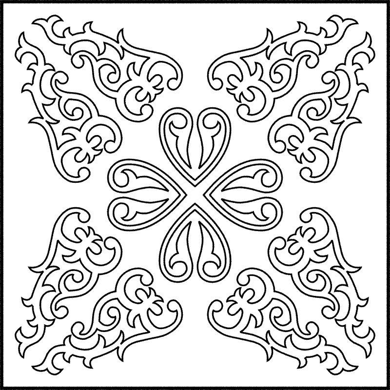 Sketsa Batik Modern