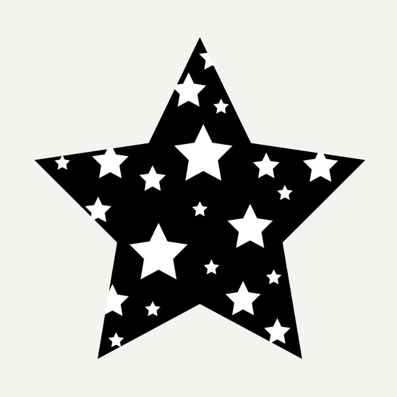 Sketsa Bintang Keren