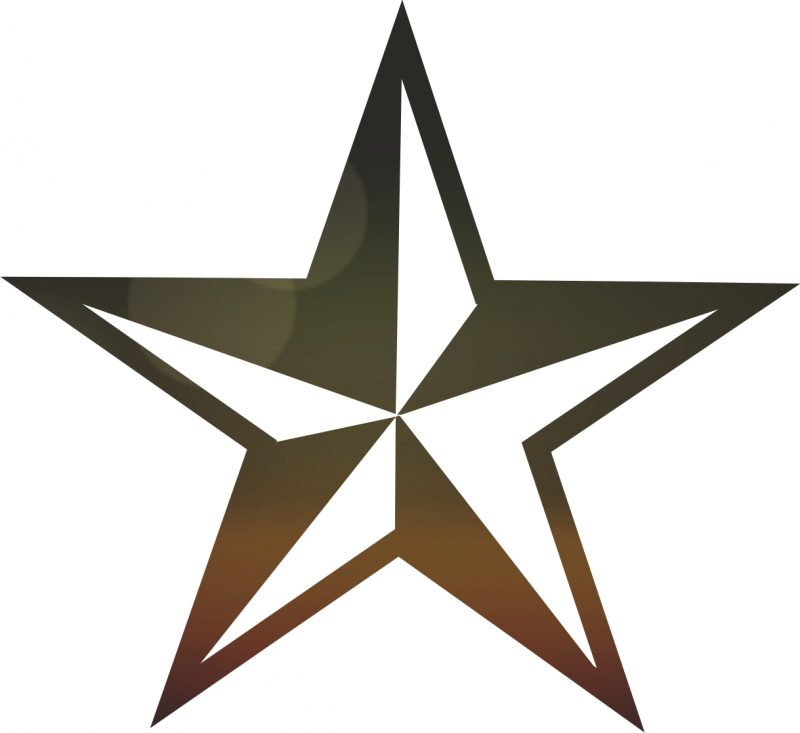 Sketsa Bintang Lima