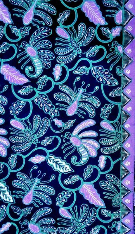 gambar batik Capung