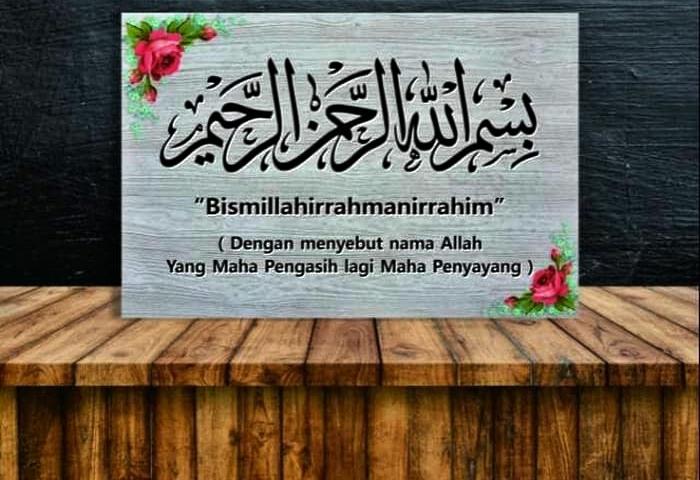 Makna Tulisan Bismillah
