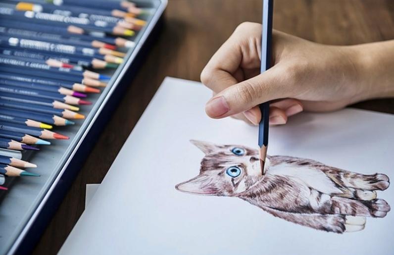 Alat dan Bahan untuk Menggambar dengan Teknik Gosok atau Dusel