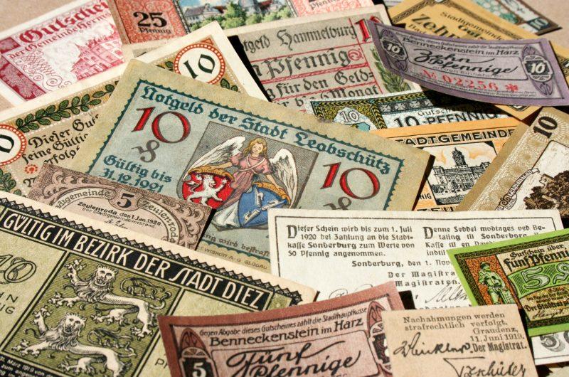 Mata Uang Kayu Jerman
