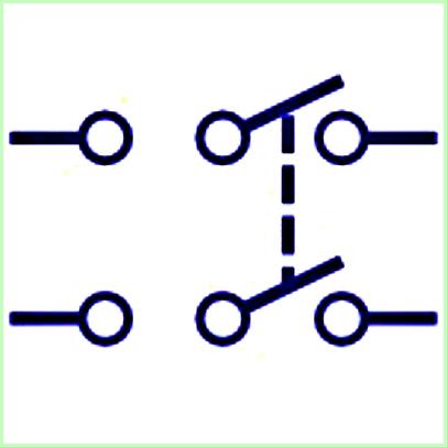 Saklar Double Pole Double Throw (DPDT)