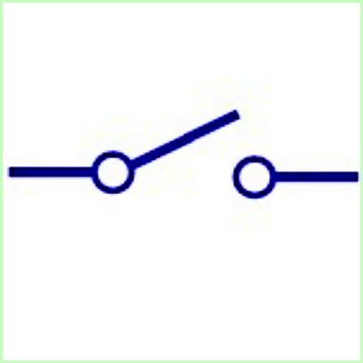 Saklar Single Pole Single Throw (SPST)