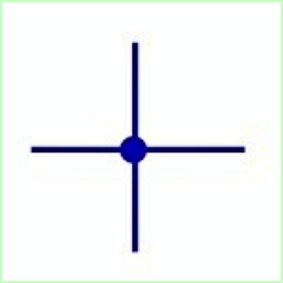 Simbol Listrik Kabel Terhubung