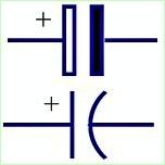 Simbol Listrik Kapasitor Berpola