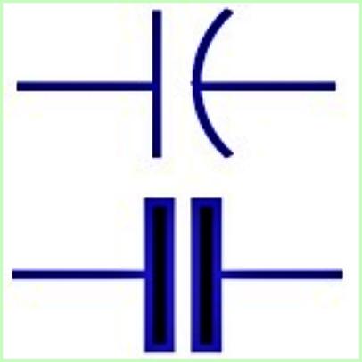 Simbol Listrik Kapasitor Tidak Berpola