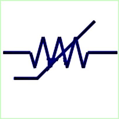 Simbol Listrik Magneto Resistor