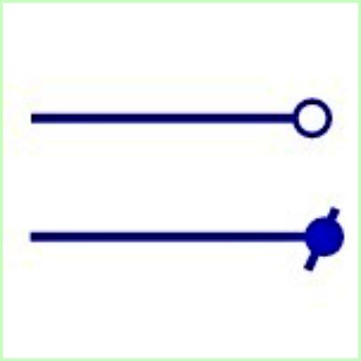 Simbol Listrik Terminal