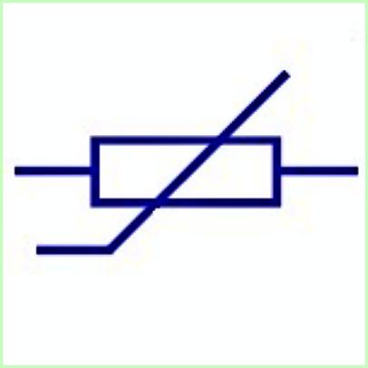 Simbol Listrik Varistor