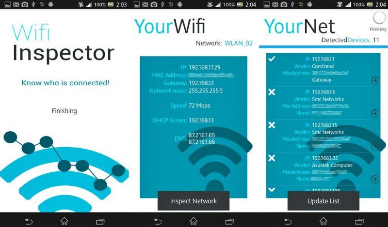 Aplikasi Bobol Wifi Inspector