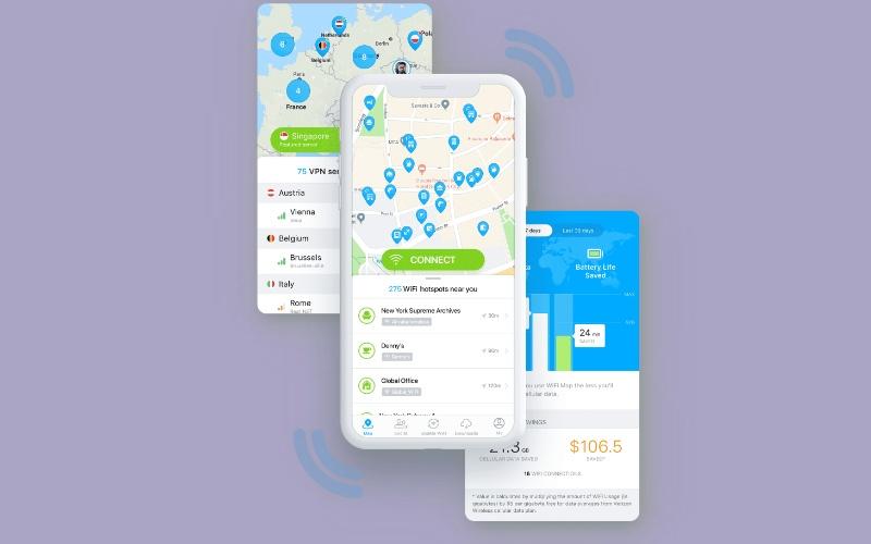Aplikasi Bobol Wifi map