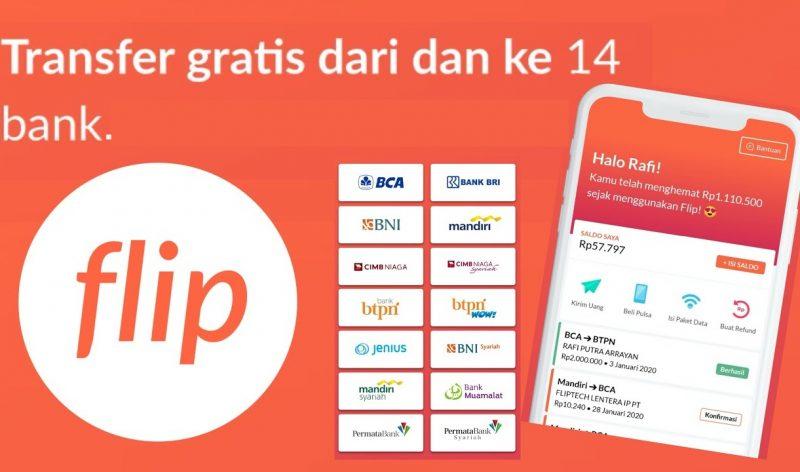 Aplikasi Transfer Uang Flip