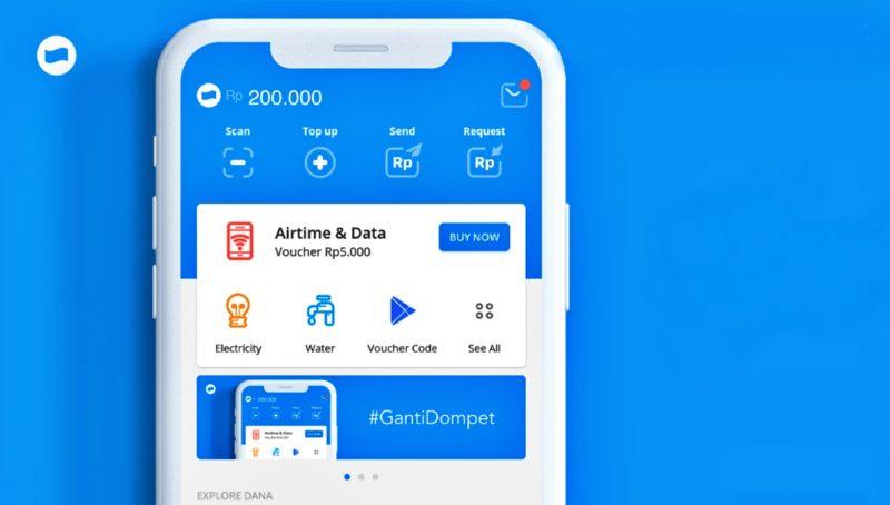 Aplikasi transfer Uang Dana