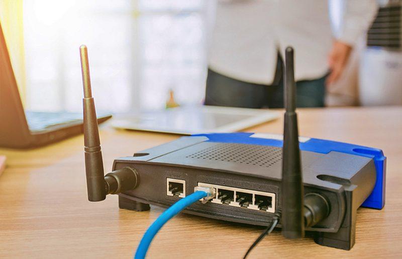 perangkat jaringan komputer router